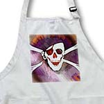 click on Fun Skull and Cross Bones Pirate - Halloween Art to enlarge!