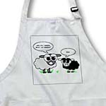 click on Cute Black and Grey Sheep – Funny Design to enlarge!