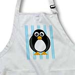 click on Cute Penguin with Blue Stripes to enlarge!