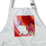 click on HARE-WHITE RABBIT-VIBRANT COLORS to enlarge!