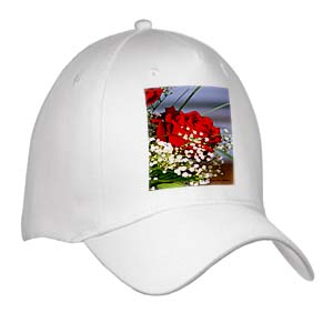 click on Red Rose With Babys Breath - Photography Flowers to enlarge!