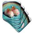 click on Scrumptious Pieces Of Sushi  to enlarge!
