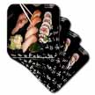 click on Mixed Sushi n California Roll Plate w Japanese Symbols to enlarge!