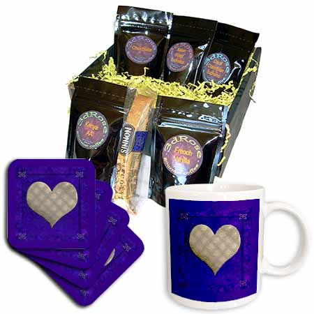 click on Gold Heart on Purple to enlarge!