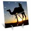 click on Desert safari is an exhilarating way of discovering Dubais natural beauties Camel ride at sunset  to enlarge!