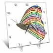 click on Rainbow Mosaic Butterfly Painting to enlarge!