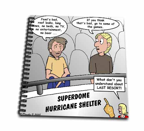 click on Katrina Hurricane Shelter Problems to enlarge!