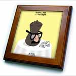 click on Funeral for a Cartoonist - Groucho Glasses on an Urn to enlarge!