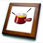 click on Retro Fondue Pot With Cheese to enlarge!