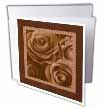 click on Chocolate roses surrounded by a striped and marbelized frame to enlarge!