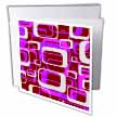 click on Retro Rectangular Shapes in Red, Gray, Purple and Pink to enlarge!