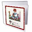 click on Valentine Greetings Vintage Girl with Wildflowers  to enlarge!