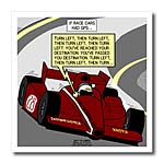 click on If Indy Racing Cars Had GPS to enlarge!