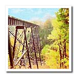 click on Train Trestle autumn in northern Michigan featuring a train trestle crossing a valley to enlarge!