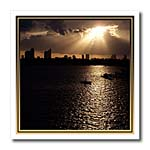 click on Miami At Sunset sunset summer evening photograph of city of Miami Florida to enlarge!