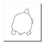 click on Turtle Tortoise Outline Art Drawing to enlarge!