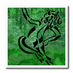 click on Joyful Puck Tribal Faun Satyr Abstract Fantasy to enlarge!