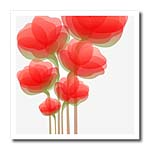 click on Soft Orange Watercolor Flowers to enlarge!
