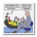click on Pastor Problems with Clown Ministry to enlarge!
