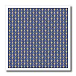 click on Contemporary hands and feet pattern in blue grey and tan to enlarge!