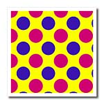 click on Red and Blue Polka Dots on a Yellow Background to enlarge!