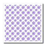 click on Lavender floral pattern on white to enlarge!