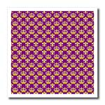 click on Gold Crown and Fleur de lis on Royal Purple background to enlarge!
