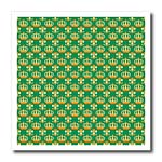 click on Gold Crown and Fleur de lis on Green background to enlarge!