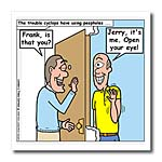 click on Cyclops Answers the Door to enlarge!