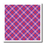 click on Think Pink Tartan pattern in blue and pinks  to enlarge!