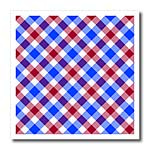 click on Patriotic Tartan pattern in red white and blue to enlarge!