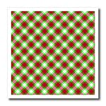 click on Holiday tartan pattern in red green and white to enlarge!