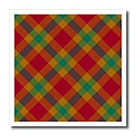 click on Autumn holiday tartan pattern in red orange and spring green  to enlarge!