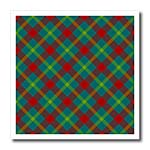 click on Bright Winter Holiday Tartan pattern in red teal light green to enlarge!