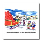 click on Kevin Edler Cartoon about Santa and OSHA for Christmas to enlarge!