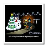 click on Larry Miller Cartoon about Holiday Overlap for Christmas to enlarge!