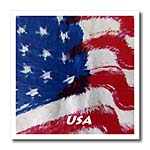 click on Wavy USA Abstract Flag to enlarge!
