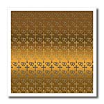 click on Small gold entwined hearts and cross on a bright brass background. to enlarge!