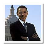 click on Close Up Portrait Of Pres Obama Front Of Capital to enlarge!
