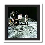 click on Photo Of Apollo Moon Landing to enlarge!