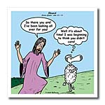 click on Luke 15-1-10 - Sheepish with Jesus and the lost sheep to enlarge!