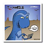 click on T-Rex Mobile Cell Phone and Texting or Trexting to enlarge!