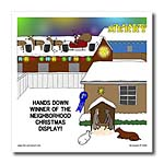 click on Simple Nativity Wins Neighborhood Christmas Display Contest to enlarge!