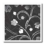 click on White and Gray Floral to enlarge!