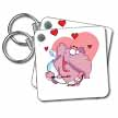 click on Goofy Elephant Valentine to enlarge!