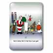 click on Larry Miller Santa Ushers in the New Year to enlarge!