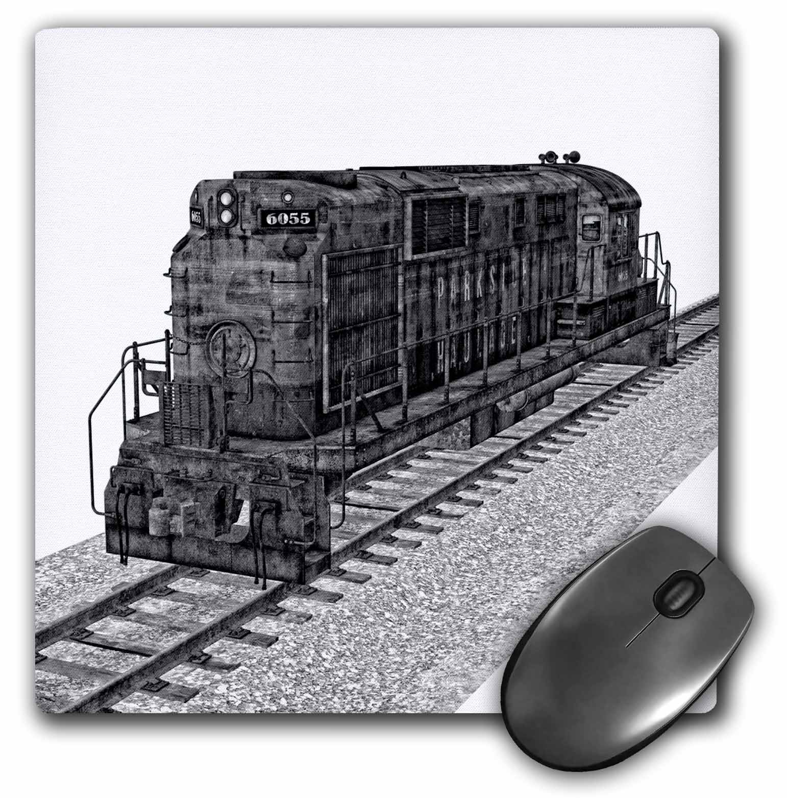 3dRose - Boehm Graphics Train - A cargo car seen from the side - Mouse Pads at Sears.com