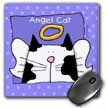 click on Angel Bi color Cat Cute Cartoon Pet Loss Memorial  to enlarge!