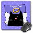 click on Angel Black Cat Cute Cartoon Pet Loss Memorial  to enlarge!