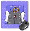 click on Angel Gray Tabby Cat Cute Cartoon Pet Loss Memorial  to enlarge!